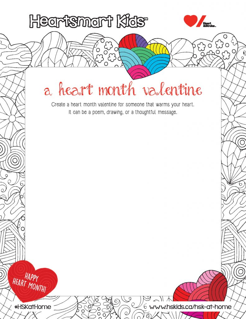 Heart Month Valentine